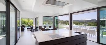 villa cuisine intérieur design villa moderne henri paret architecte henri