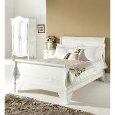 Sleigh Platform Bed Frame by King Poster Bed Frame Frame Pk Design Iron