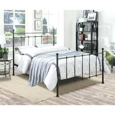 black queen size bed frame u2013 bare look