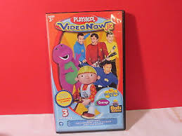 Barney Three Wishes Video On by Playskool Video Now Jr 3 Disc Pack Wiggles Barney Bob The Builder