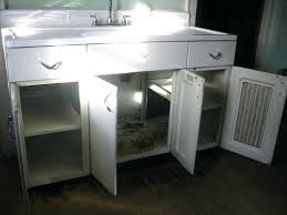 vintage metal kitchen cabinets for sale vintage metal sink cabinet sink cabinets kitchen full size of