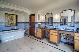 Art Deco Bathroom by Art Deco Hollywood Bathroom By Architect Linda Brettler