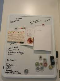 happiest mom on the blog magnetic dry erase board on the board i write out my meal planning to do list and shopping list i use magnetic clips to post my grocery list and the recipes that i am making that