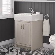 Grey Vanity Unit Traditional Vanity Units Wooden Bathroom Furniture Tap