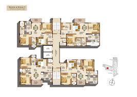 salarpuria sattva navaratna floor plans for 2 3 bedroom