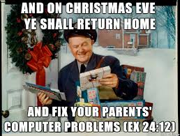 Family Christmas Meme - the true meaning of christmas meme guy