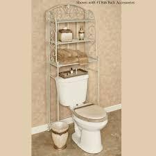 Toilet Space Saver Aldabella Creamy Gold Bathroom Space Saver