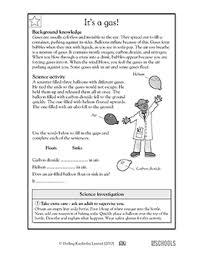 3rd grade 4th grade science worksheets solid liquid or gas