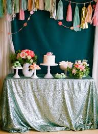 Mermaid Decorations For Party Bridal Shower Ideas