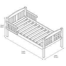 bed measurements elegant toddler bed length toddler bed planet