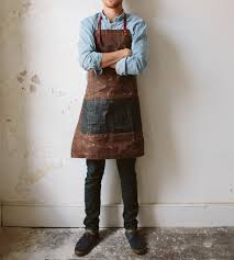 Custom Aprons For Men Charles Men U0027s Waxed Canvas U0026 Leather Apron Gifts For The Chef