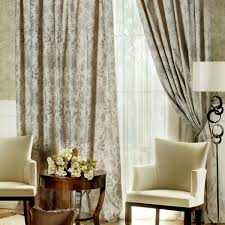 Covering A Wall With Curtains Ideas Brown Living Room Curtains White Trees Black Flooring The Wall