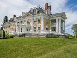 style mansions a stately colonial style mansion in burke vermont is on the