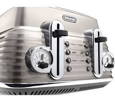 Asda Toasters Buy Delonghi Scultura Ctz4003bg 4 Slice Toaster Champagne Free