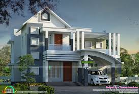 New Contemporary Home Designs In Kerala Contemporary Mix Modern Home Architecture Kerala Home Design