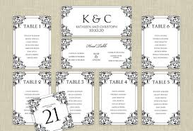 wedding seat chart template wedding seating chart template instantly editable