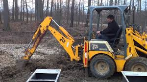 jcb 208s backhoe 1cx skid steer backhoe mini master youtube