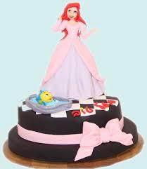 little mermaid in a dress cake by mysweetstop on deviantart