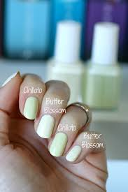 the nail polish shades i created with essie essie envy