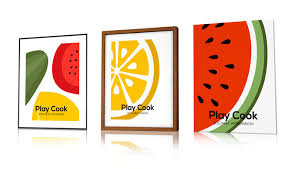 affiche deco cuisine tableau design et affiche moderne déco pop et vintage tableaux et