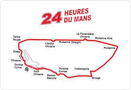 map of le mans for the race fans series profile 24 hours of le mans transit