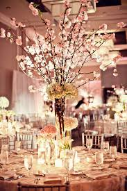 cherry blossom centerpieces by petal productions reminds me of