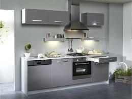 cuisine equipee brico depot design d intérieur cuisine equipee blanche meuble gris pas cher