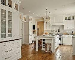 cuisine blanches table en bois originale pour conception cuisine nouveau 53 variantes