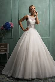 wedding dresses gown gown sleeveless lace tulle wedding dress with