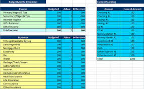 Monthly Budget Template Excel Monthly List Sles Free Sle Monthly Expenses Spreadsheet
