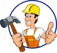 vector handyman clipart