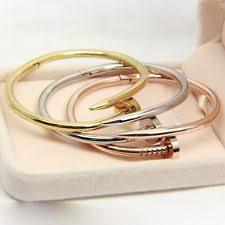 stainless steel mens bangle bracelet images Mens rose gold bracelet ebay jpg