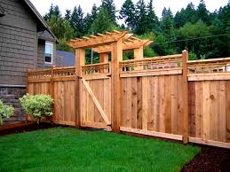 bedroom archaiccomely privacy fence ideas for backyard small