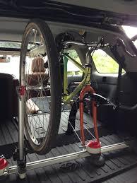 inside toyota highlander minoura interior bike rack product review restoring vintage