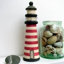painted wooden lighthouse coastalhome co uk