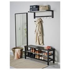 ideas bench with storage baskets shoe bench ikea entryway