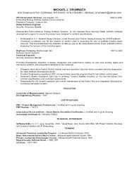 michael grumbach pm resume 2015