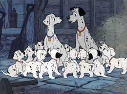 wool wheel 101 dalmatians 1961