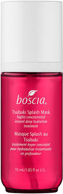 Masker Boscia boscia tsubakitm splash mask highly concentrated instant