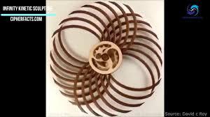 infinity kinetic sculpture by david c roy feels so satisfying