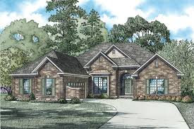 brick one story house plans quotes home plans u0026 blueprints 77336