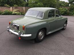 sold 1961 rover 100 p4 mathewsons