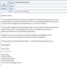 sample cover letter for job via email best resumes curiculum