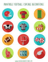 free printable football decorations tips for getting ready for