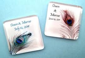 peacock wedding favors peacock wedding ideas and supplies peacock feather wedding favors