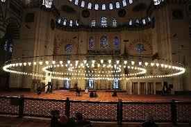 design masjid indah ruang dalam masjid dengan lu yang indah picture of suleymaniye