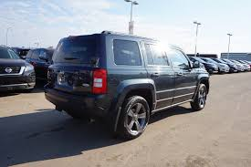 silver jeep patriot 2015 used jeep on sale in edmonton ab compass patriot grand cherokee
