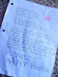 happy birthday love letters happy birthday love letter to my