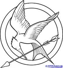 hunger games hunger games coloring pages printable