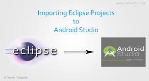 android eclipse how to import eclipse project into android studio